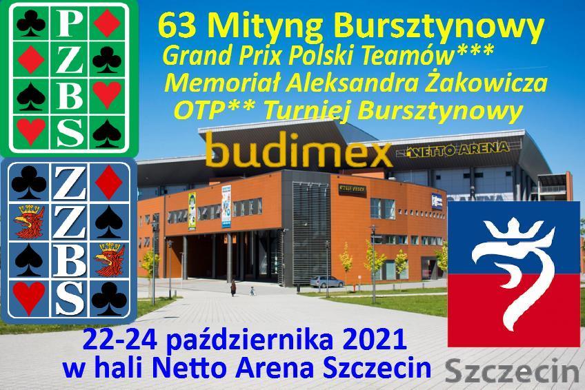 63. Mityng Bursztynowy - Grand Prix Polski Teamów 2021 @ Szafera 3/5/7 | Szczecin | Zachodniopomorskie | Polska